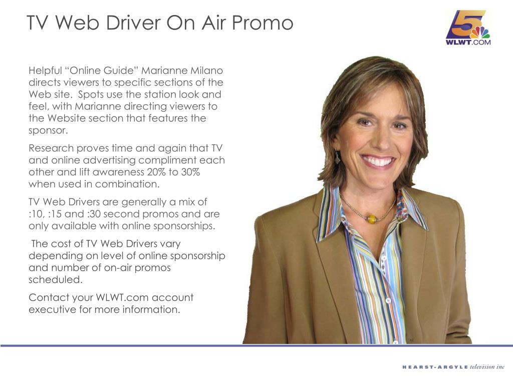TV Web Driver On Air Promo