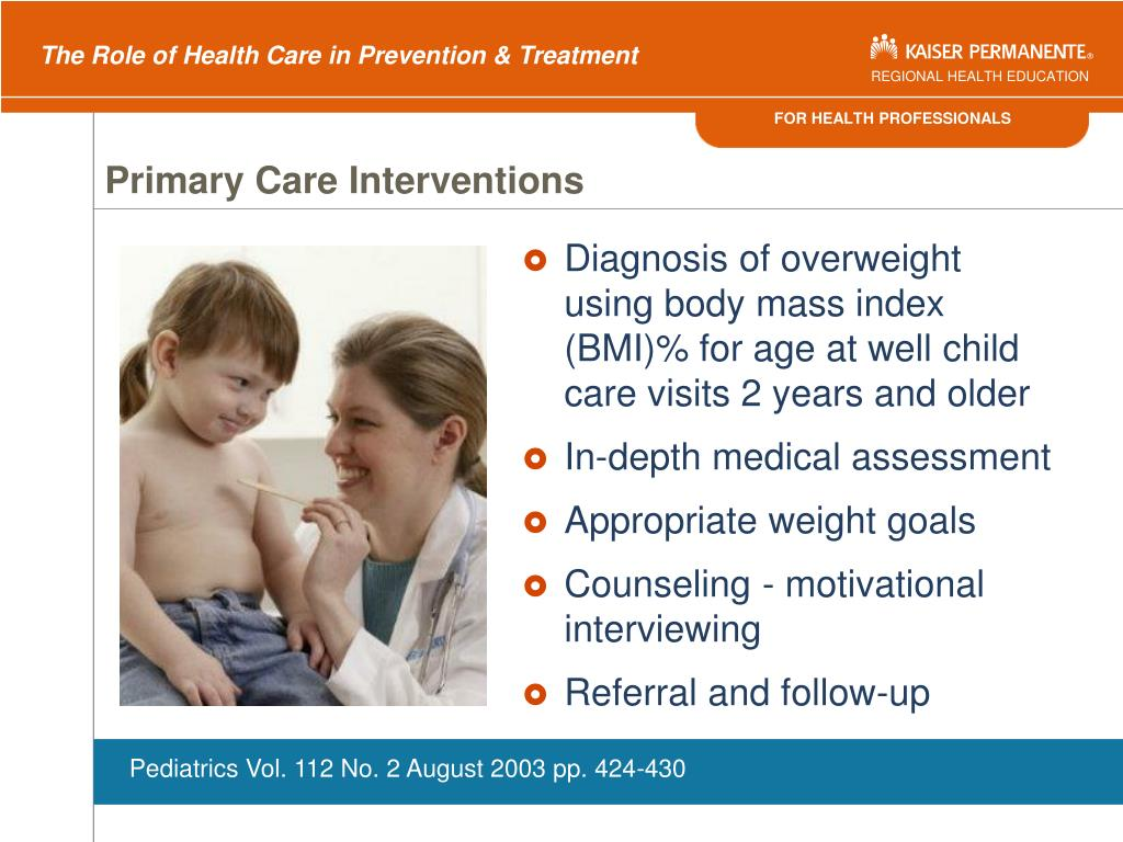 Primary Care Interventions