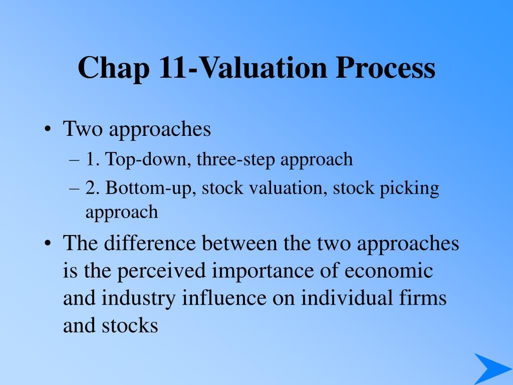 chap 11 valuation process l.