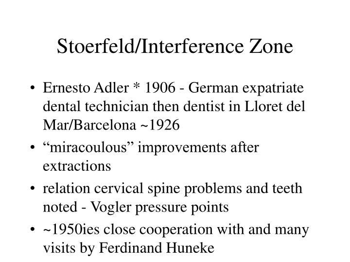 Stoerfeld/Interference Zone