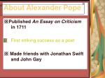 about alexander pope3