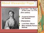 about alexander pope5