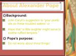 about alexander pope6