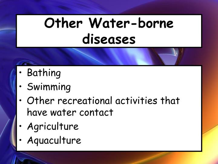 Other Water-borne diseases