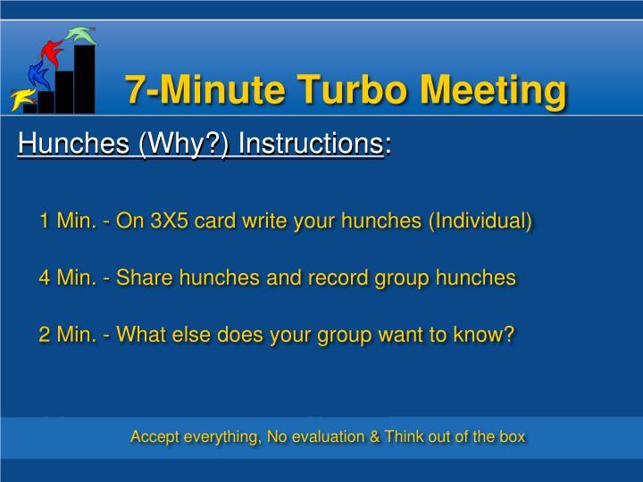 7-Minute Turbo
