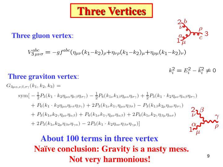 Three Vertices