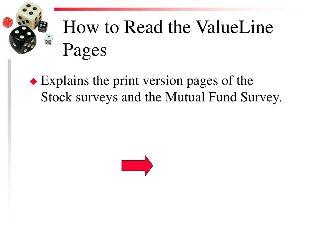 How to Read the ValueLine Pages