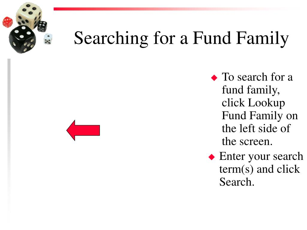 Searching for a Fund Family