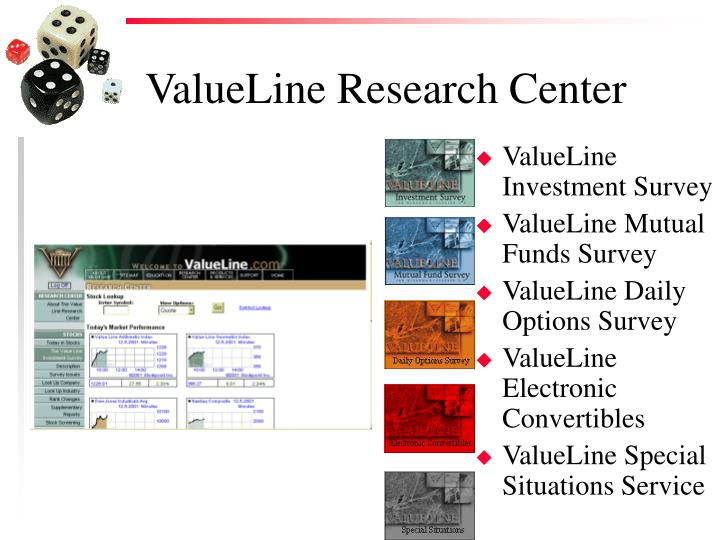 Valueline research center