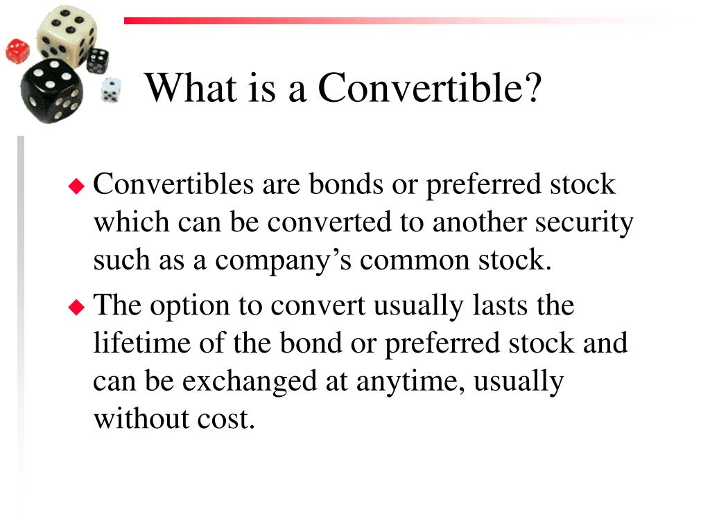 What is a Convertible?