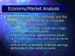 economy market analysis