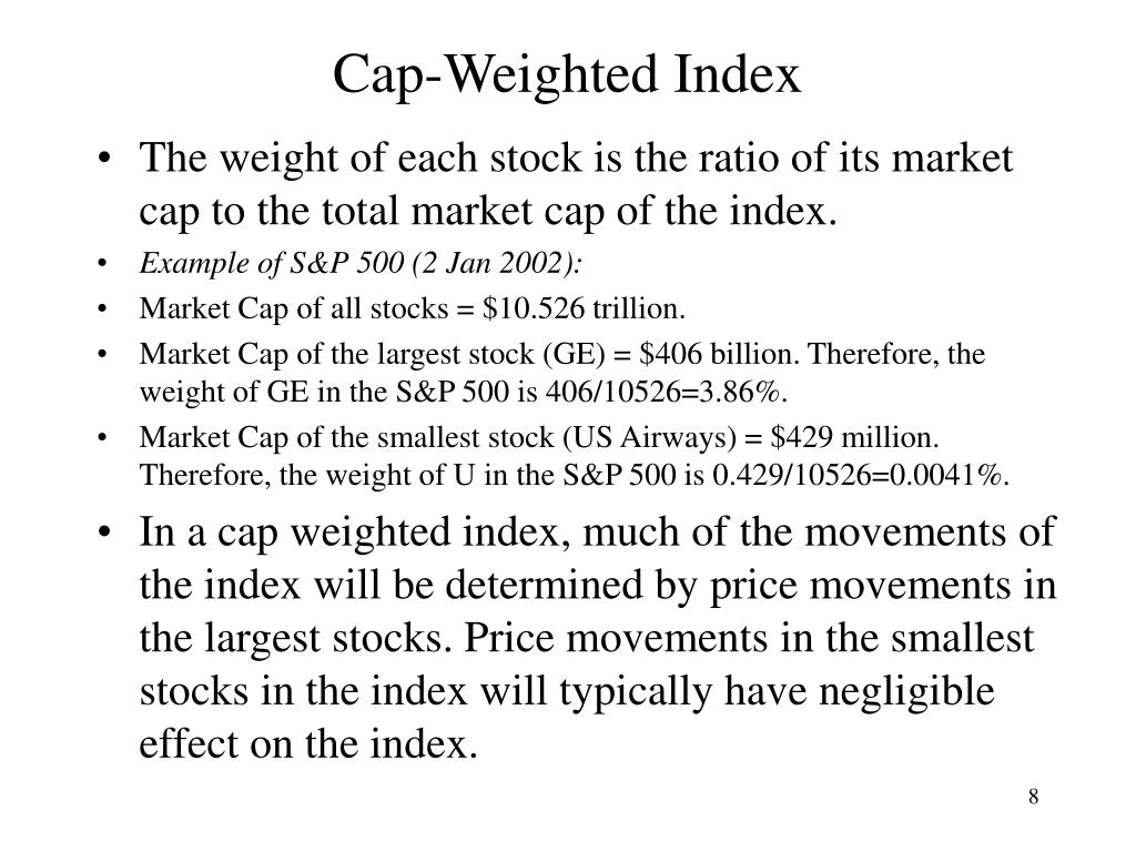 Cap-Weighted Index