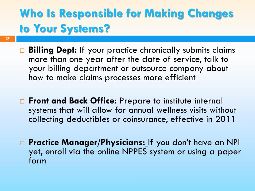 Who Is Responsible for Making Changes to Your Systems?