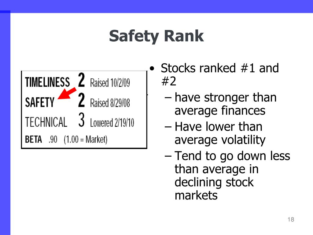 Stocks ranked #1 and #2