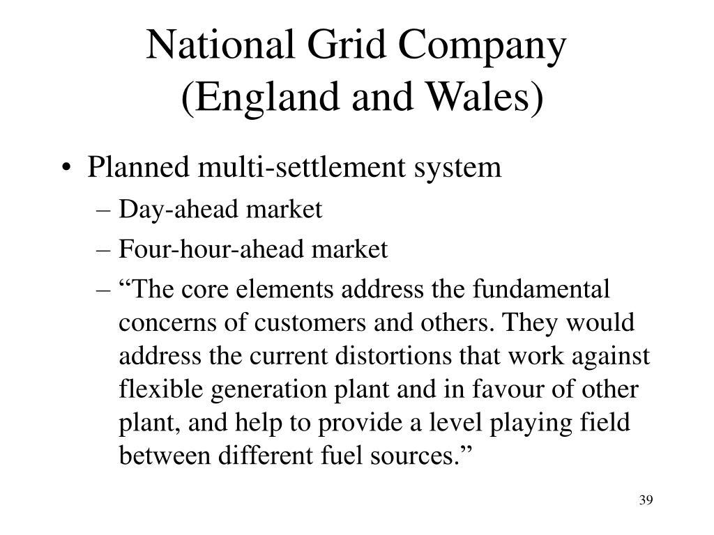 National Grid Company