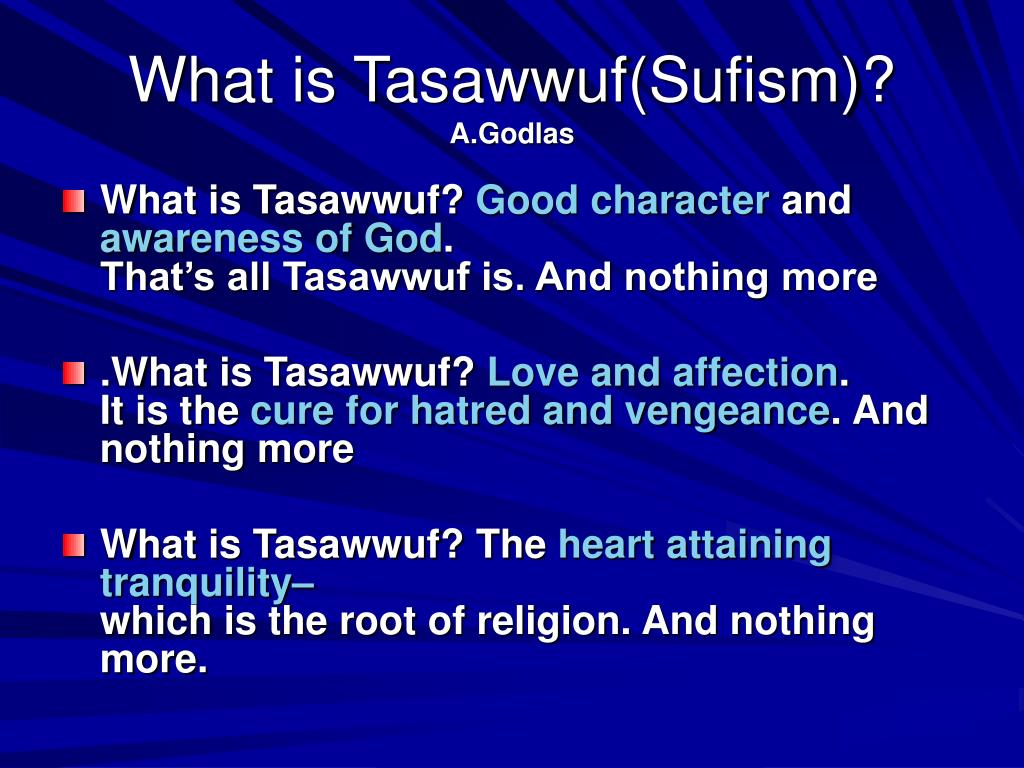 PPT - What is Sufism? PowerPoint Presentation, free download - ID ...
