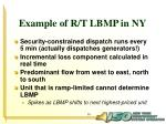 example of r t lbmp in ny