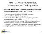 mm 1 2 facility registration maintenance and de registration6