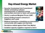 day ahead energy market