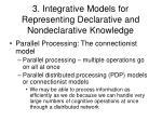 3 integrative models for representing declarative and nondeclarative knowledge3