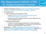 key requirements energy star for imaging equipment features