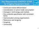 key requirements energy star for imaging equipment goals