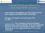 u s a hearing aid market projected profit margin deterioration due to mass market competition