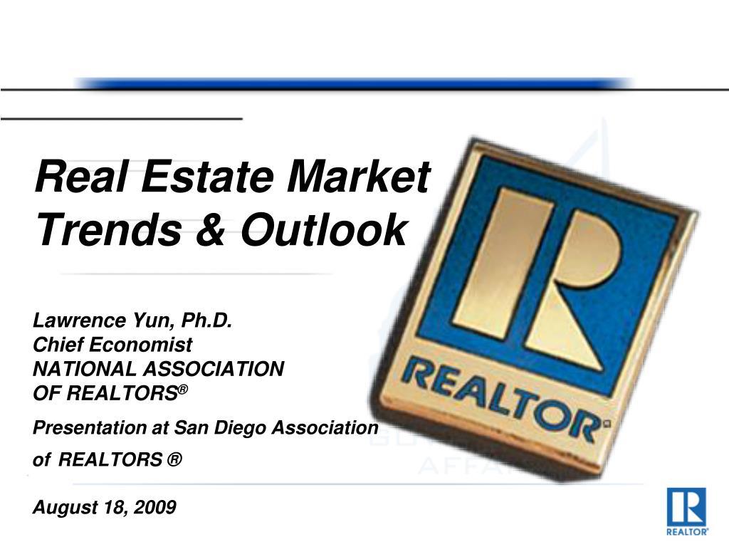 real estate market trends outlook l.