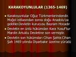 karakoyunlular 1365 1469