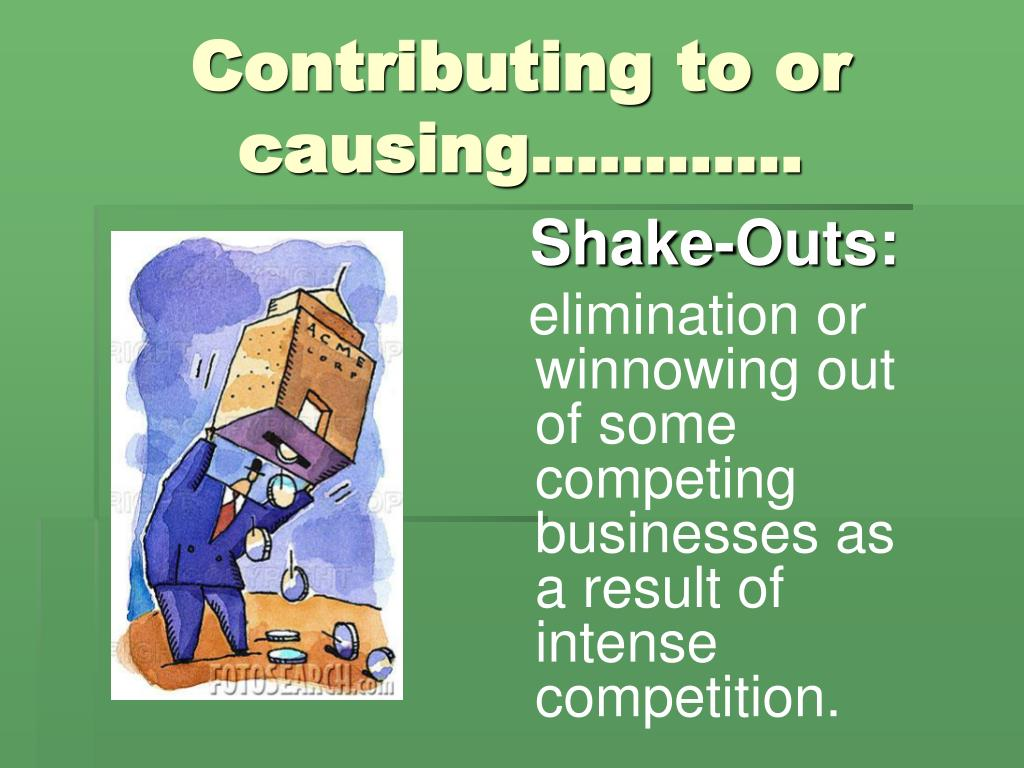 Contributing to or causing…………