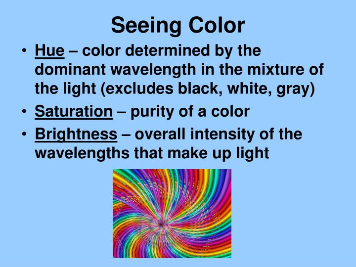 Seeing Color