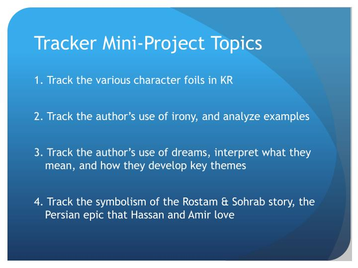 Ppt Tracking Literary Devices In The Kite Runner Powerpoint