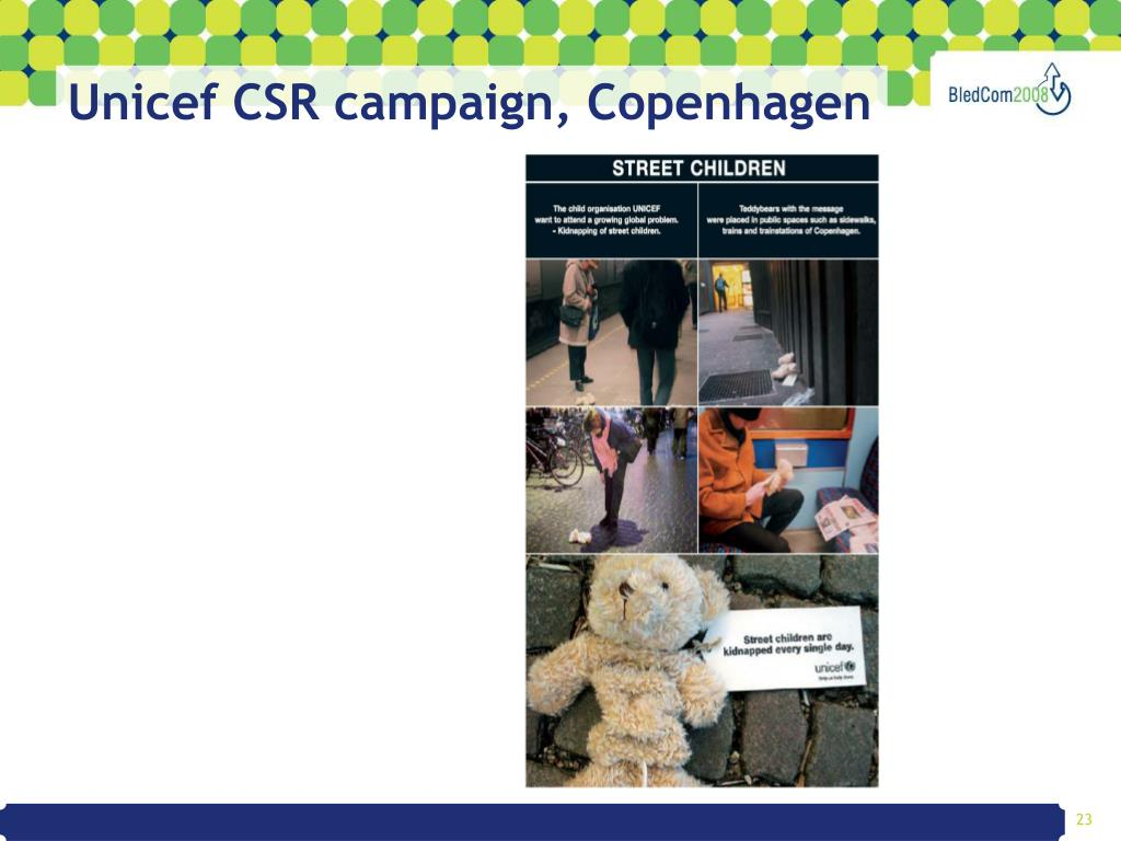 Unicef CSR campaign, Copenhagen