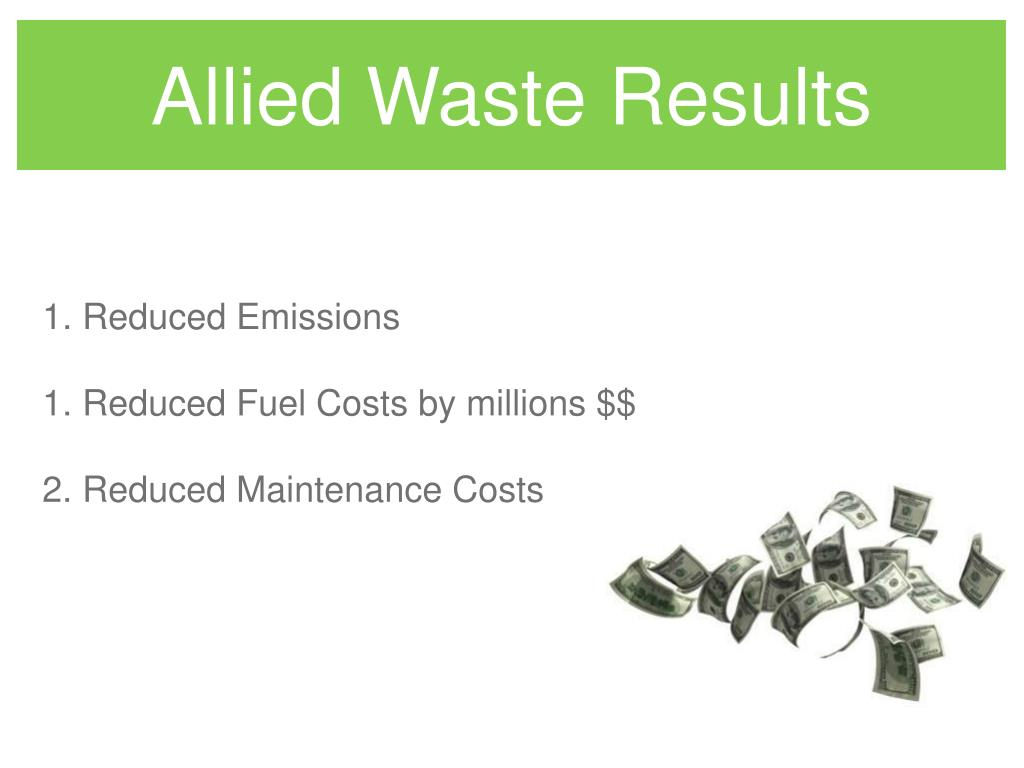 Allied Waste Results