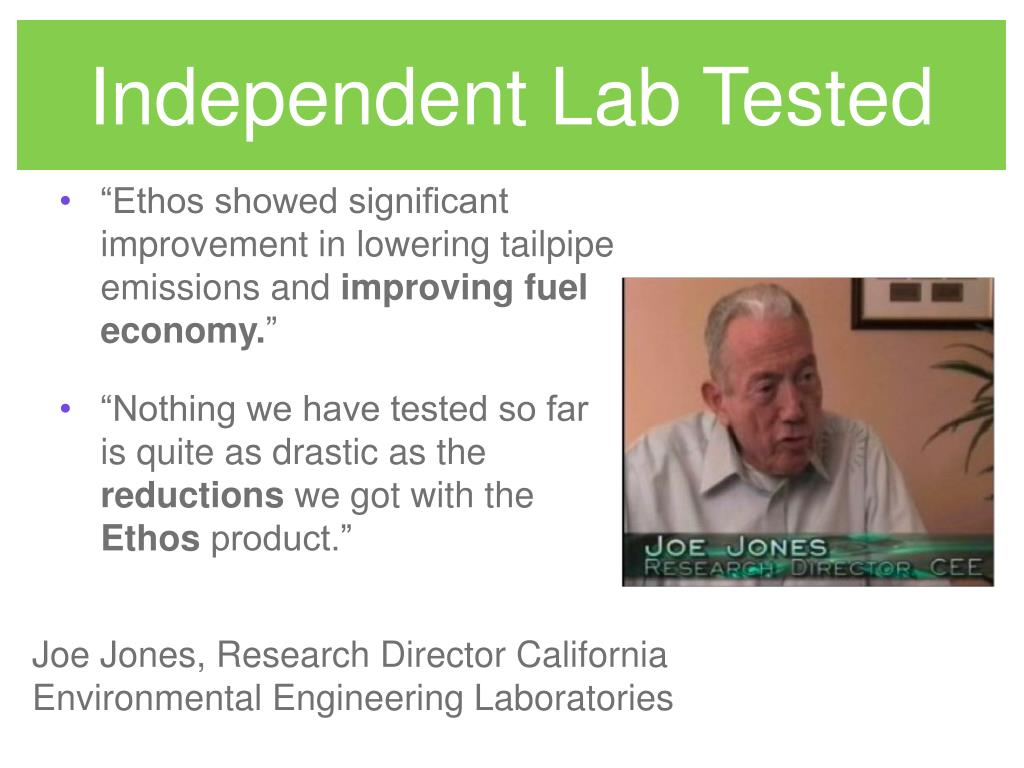 Independent Lab Tested