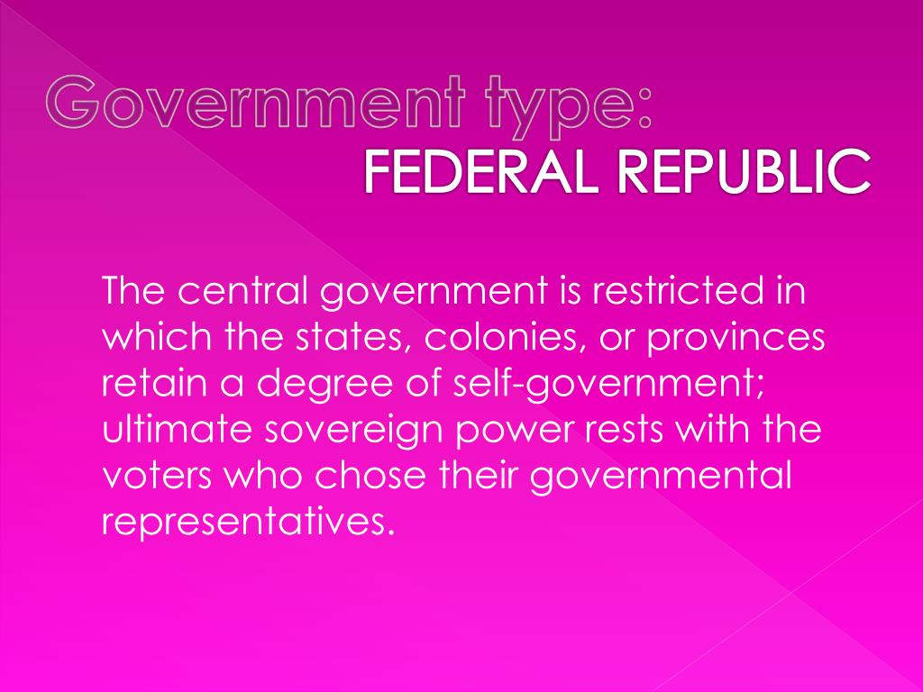 Government type