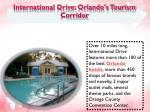 international drive orlando s tourism corridor
