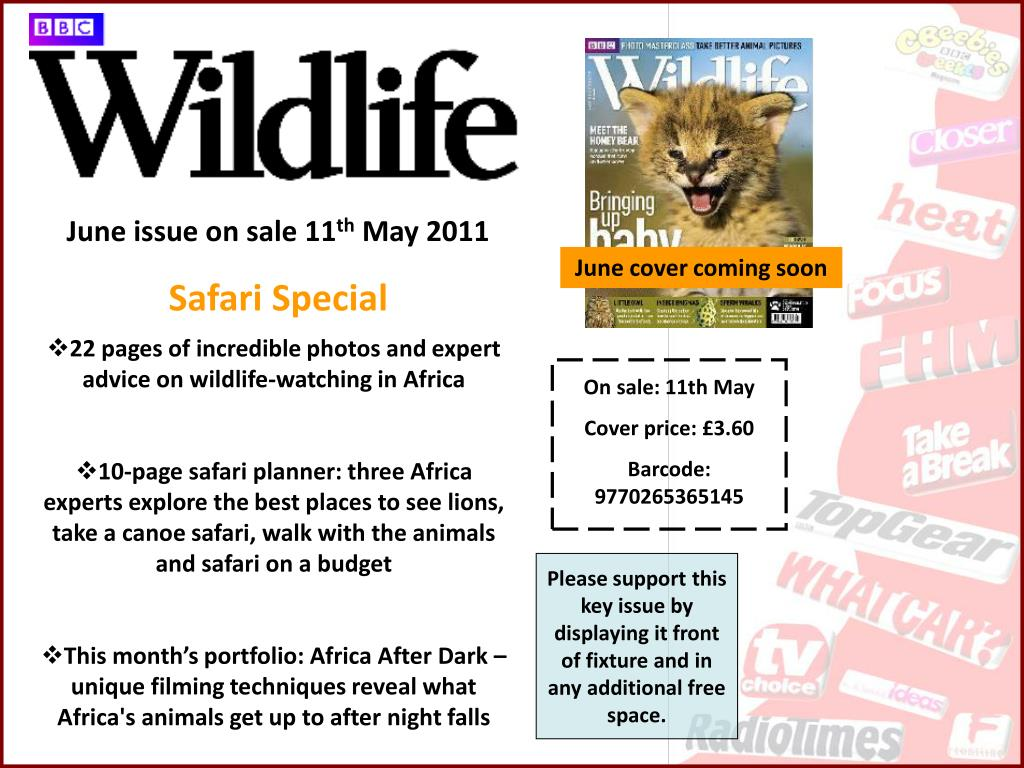 June issue on sale 11