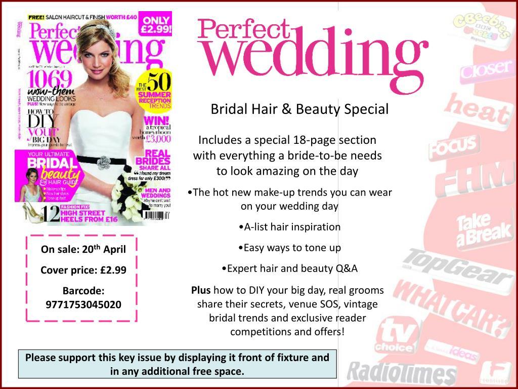 Bridal Hair & Beauty Special