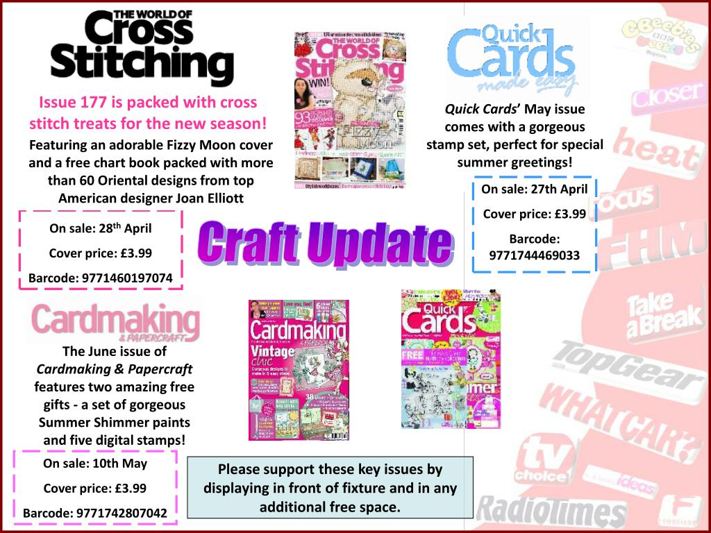 Issue 177 is packed with cross stitch treats for the new season!