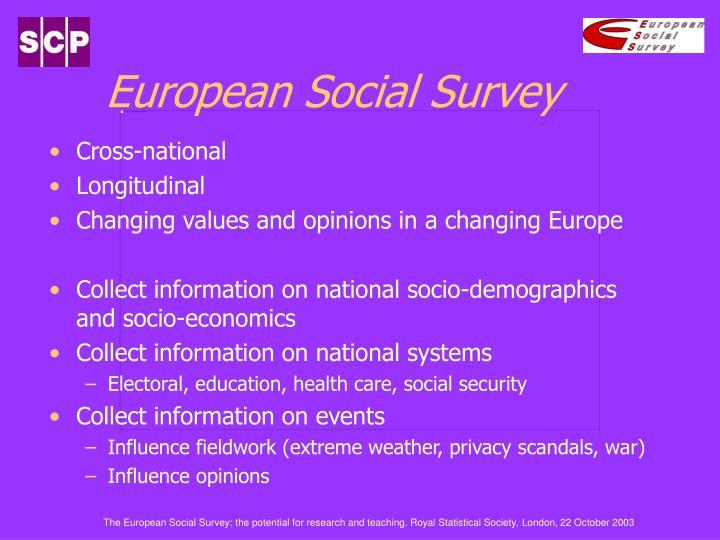 European social survey