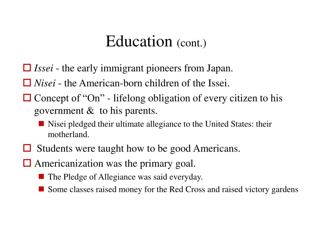 PPT - Japanese-Americans PowerPoint Presentation - ID:1201073