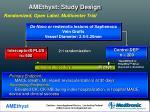 amethyst study design