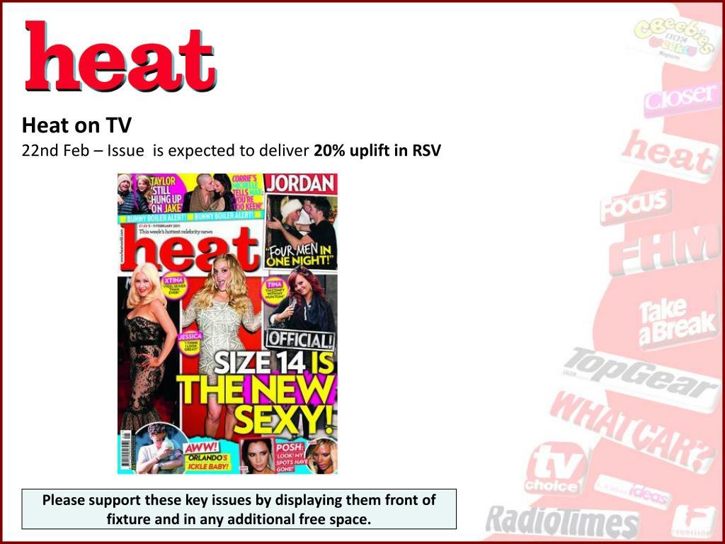Heat on TV