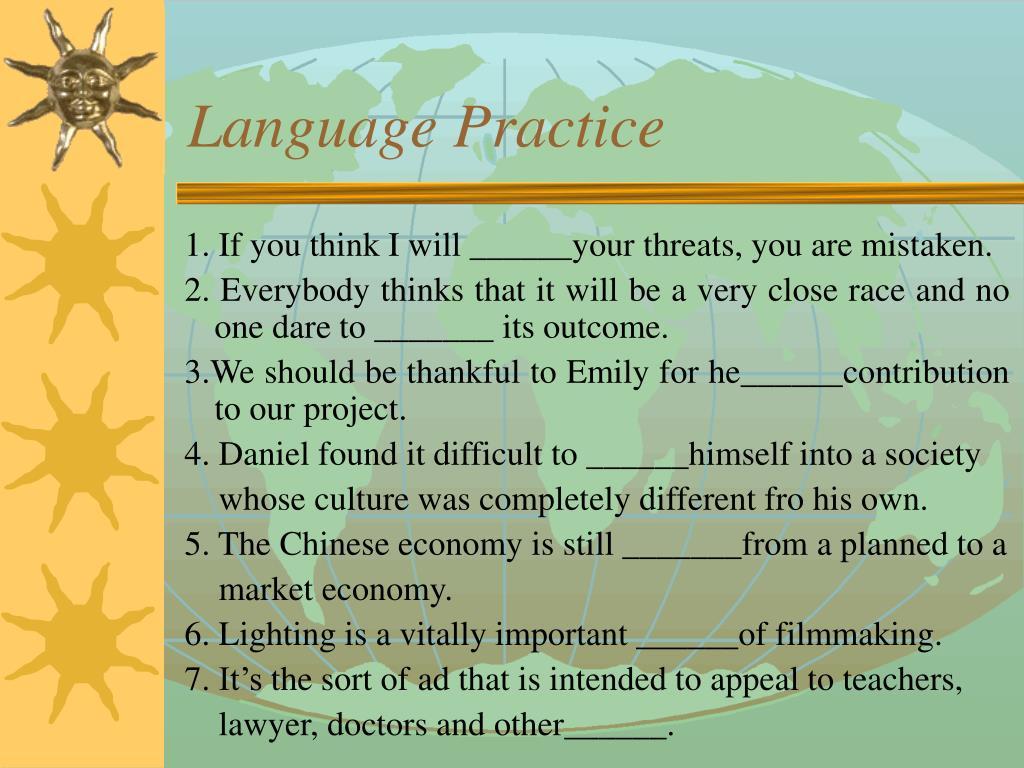 Language Practice