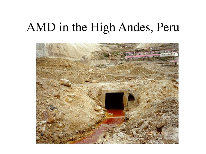 AMD in the High Andes, Peru