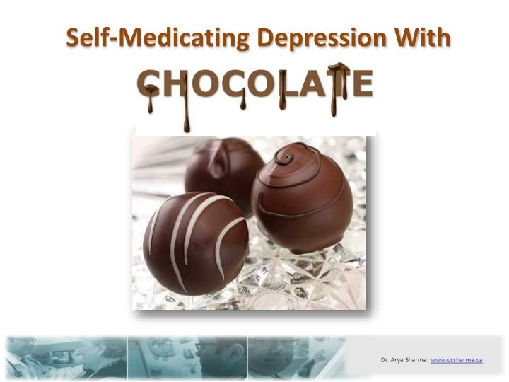 Self medicating depression with