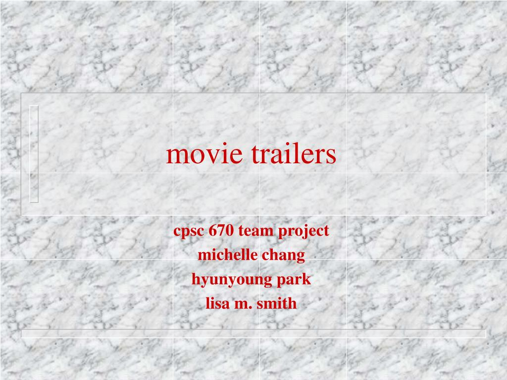 movie trailers l.