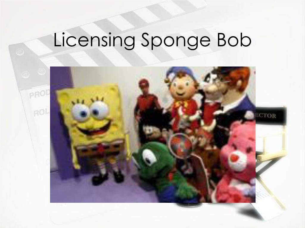 Licensing Sponge Bob