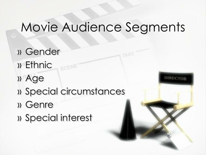 Movie audience segments